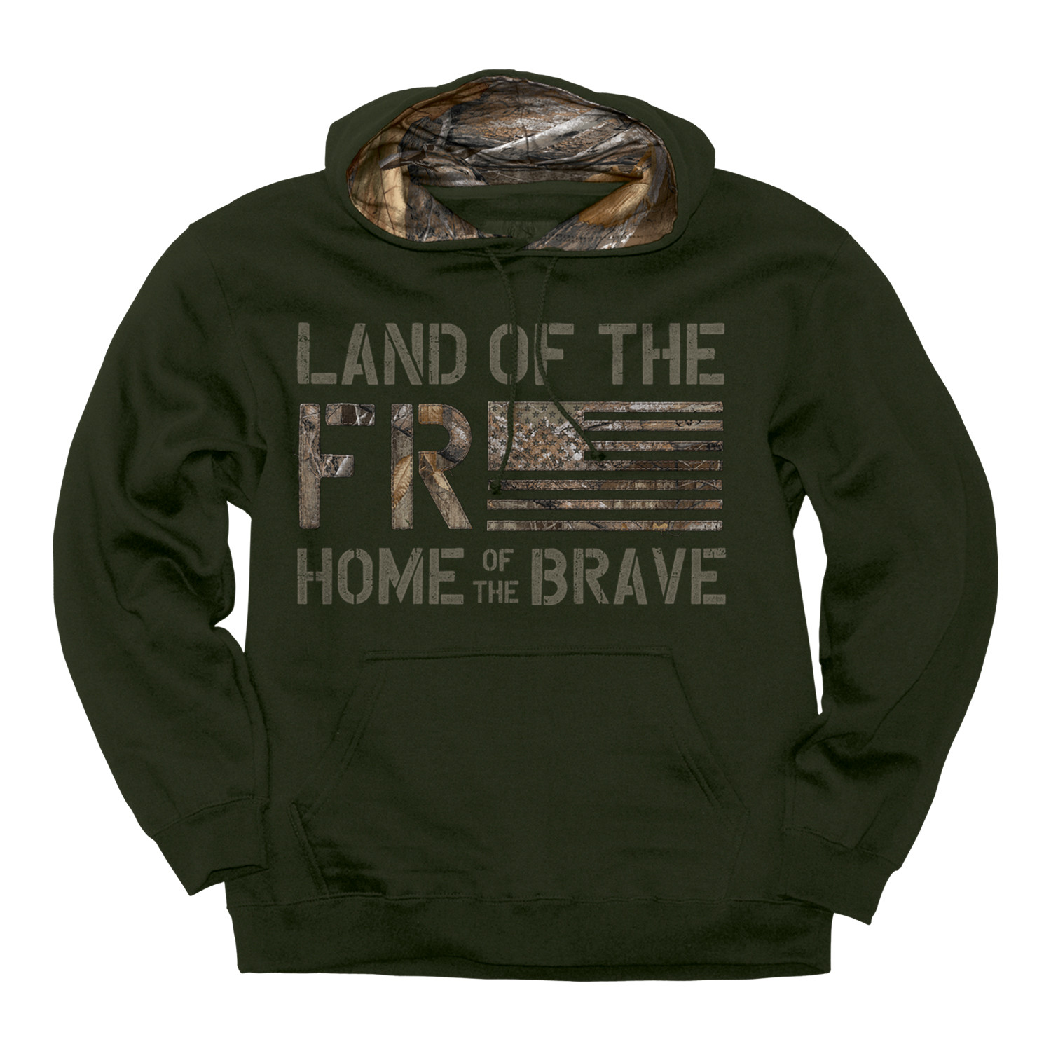 Front of Hoodie