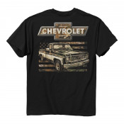 Chevy - 73 Camo Flag