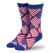 Flag Pattern Sock