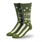 Freedom Flag Sock