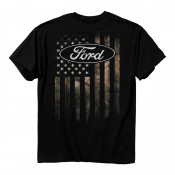 Ford - Camo Accent Flag