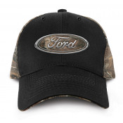 Ford - Chrome Logo Hat