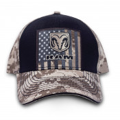 RAM - USA Tan Digi Hat