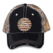 Ford - Camo Round Flag Hat